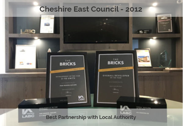Cheshire East Council Award