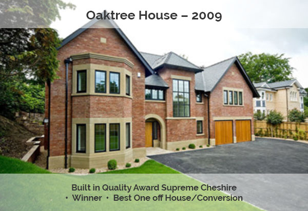 Oaktree House Award